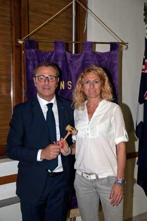 Riboni Laura nuovo presidente del Lions Club Cremona Europea3