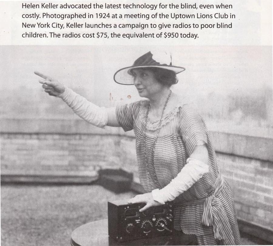 Il discorso di HELEN KELLER alla Convention internazionale - 30 Giugno 1925, Cedar Point (U.S.A.)